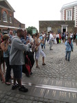 SX15929 Que of people at prime meridian at Old Greenwich Royal Observatory, London.jpg